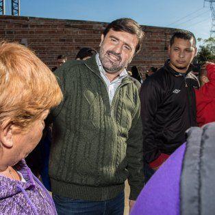 Obras. Más del 90 % del presupuesto se está invirtiendo en los barrios, aseguró el secretario de Gobierno municipal, que se postula como precandidato a concejal por Cambiemos.