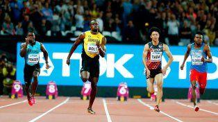 Usain Bolt cumplió con el trámite inicial en Londres
