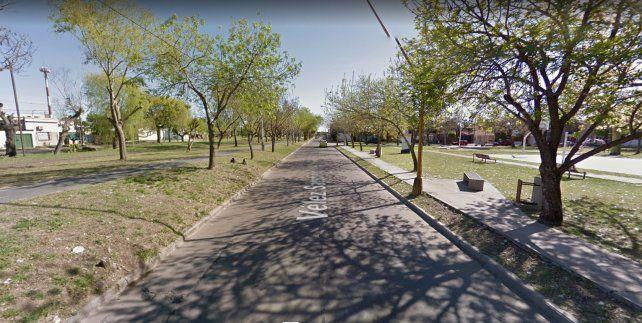 Comienzan a pavimentar un tramo de Vélez Sársfield