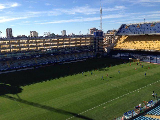 Aparecieron los goles en La Bombonera