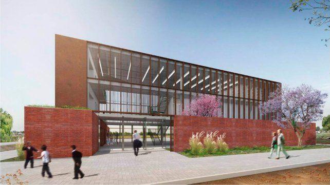 Avanza la construcción del edificio de Escuelas de Trabajo en Barranquitas Sur