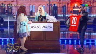 Brian Sarmiento bailó con Susana, prometió cuidar la 10 de Messi y le ganó a Lanata