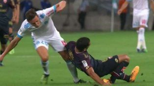 La escalofriante fractura de un jugador en la Liga de Francia