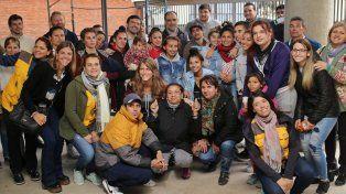 Corral: Junto a los vecinos de Barranquitas, soñamos este edificio de las Escuelas de Trabajo