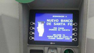 Banco Santa Fe instaló el primer cajero automático de Santa Fe con identificación de huellas dactilares