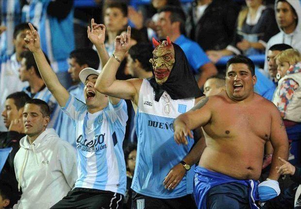 Suspendieron el partido de Racing por Copa Argentina por el tiroteo entre los barras