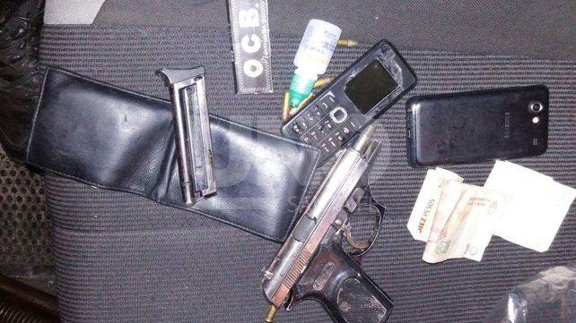 Intentaron asaltar a una familia, se tirotearon con la Policía pero los ladrones terminaron presos