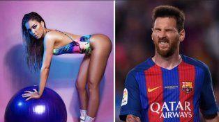 Las fantasías sexuales de Rocío Robles con Lionel Messi