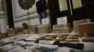 La División de Drogas de la Policía Federal detectó que Basimiani tenía contactos con los rosarinos.