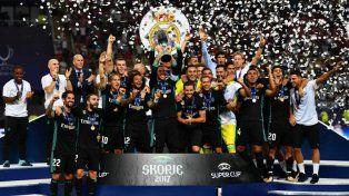 Sigue siendo el rey: Real Madrid se quedó con la Supercopa de Europa