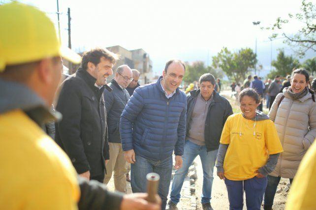 La Municipalidad trabaja en la recuperación del Paseo Verde Escalante
