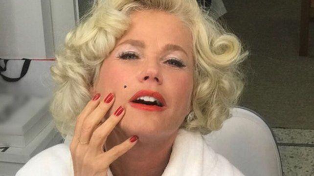 Xuxa jugó a ser Marylin Monroe para un concurso de canto y baile que alcanzó picos de audiencia