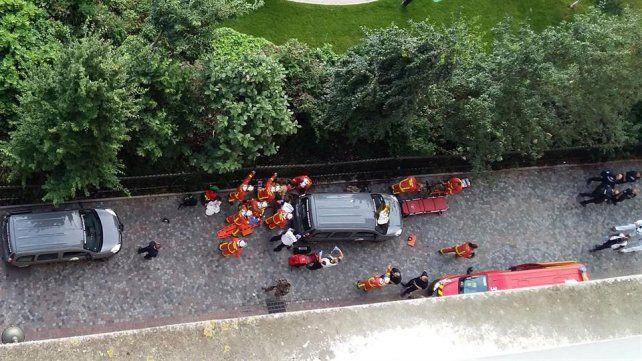 Francia: un vehículo atropelló a seis militares antiterroristas y se dio a la fuga