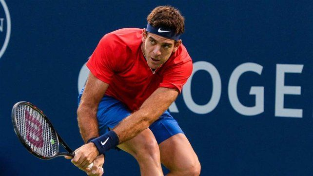 Dura derrota de Del Potro, que se despidió del Masters 1000 de Canadá