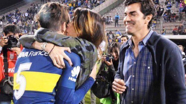 El efusivo abrazo que Isabel Macedo le dio a Fernando Gago tiene una justificación