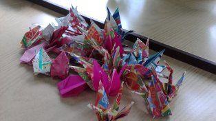 Estudiantes santafesinos enviaron 1.000 grullas y deseos de paz a Hiroshima