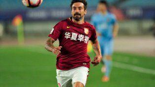 Pocho Lavezzi se despachó con un golazo en el empate de Hebei