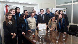 El Mundial Sub 18 recibió el apoyo del Concejo Municipal de Santa Fe