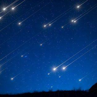 perseidas, la lluvia de estrellas que se podra ver por dos noches