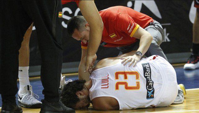 El desgarrador grito de un basquetbolista al sufrir una rotura de ligamentos cruzados
