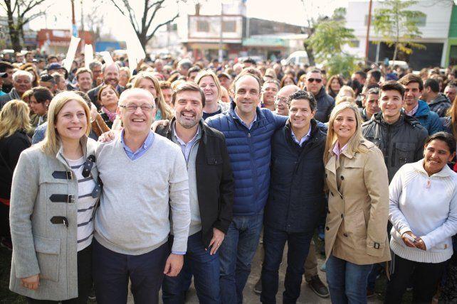 Corral pidió que el domingo acompañen la lista de Cambiemos con Carlos Pereira concejal