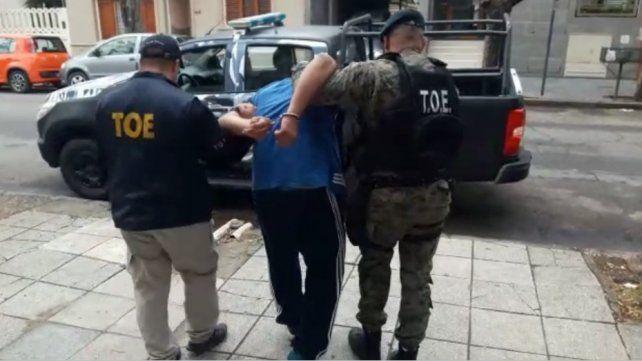En manos de la justicia. La TOE procedió al arresto del muchacho de 24 años.