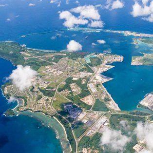 Base Naval de los EE. UU. en Guam el 20 de septiembre de 2006. Foto: Reuters / Navy Media Content Services
