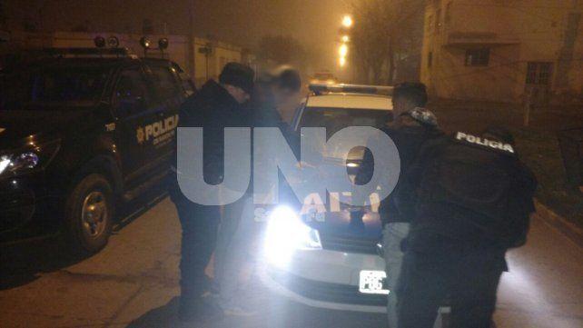 Los delincuentes fueron detenidos por la policía