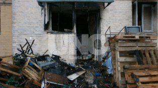 La víctima fatal del incendio fue identificada comoAmadeo Mallarino