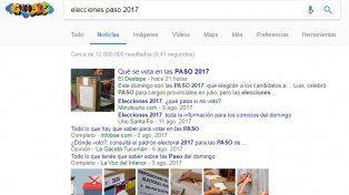 Elecciones: ¿Las búsquedas en Google sobre los candidatos pueden predecir los resultados?