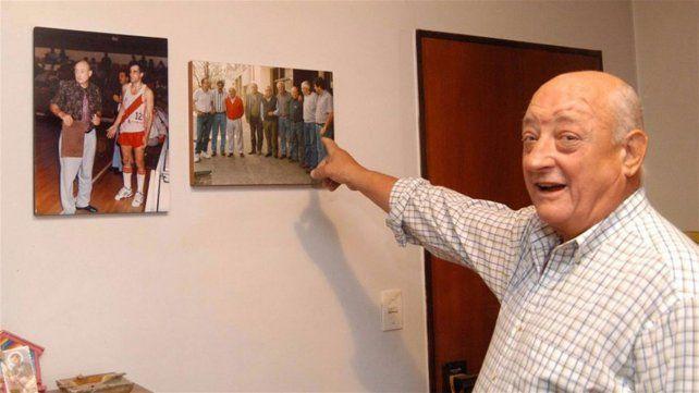 Murió Carlos Boismené, exentrenador del seleccionado de básquet