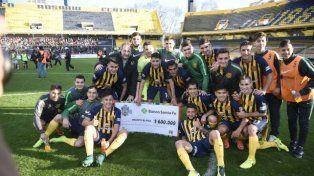 Central goleó 5 a 2 a Atlético San Jorge y jugará final de la Copa Santa Fe ante Atlético de Rafaela