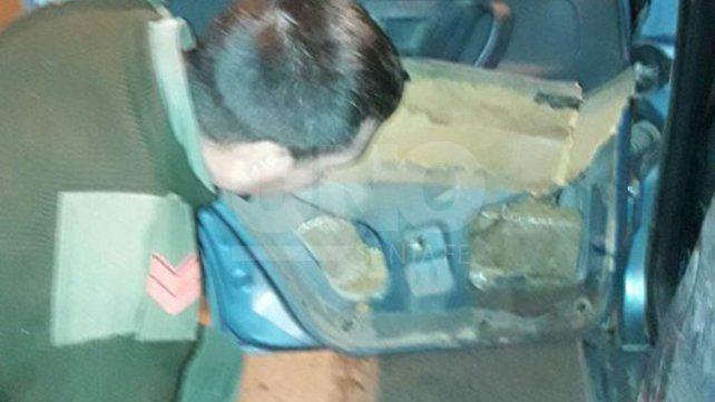 Gendarmería secuestró más de 39 kilos de marihuana en un control en un peaje de Santa Fe