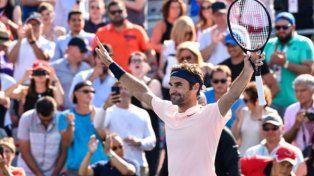 Federer definirá ante Zverev el Masters de Canadá