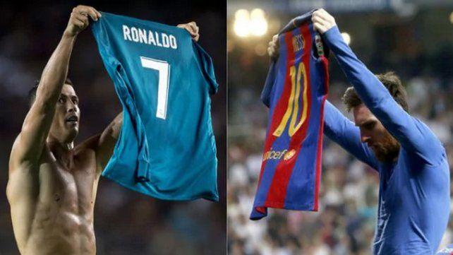 Cristiano Ronaldo se vengó e imitó el festejo de Lionel Messi en el último clásico