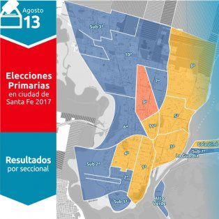 asi voto la ciudad de santa fe en la categoria de concejales