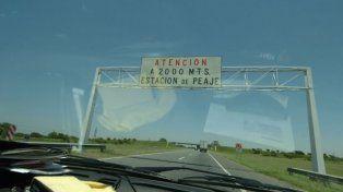 Asaltaron una cabina del peaje de la autopista Santa Fe-Rosario y se llevaron una importante suma de dinero