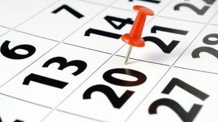 Conocé el posible cronograma de feriados para 2018