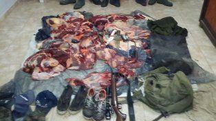 Bandidos rurales: cayeron presos luego de matar y faenar un novillo