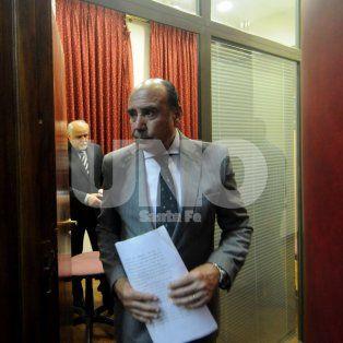 Tras las rejas. El juez Jorge Pegassano determinó que los imputados queden en prisión preventiva.