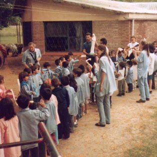El jardín Ceferino Namuncurá celebra 50 años
