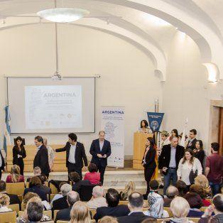 la ciudad es sede del primer encuentro nacional de dirigentes de colectividades