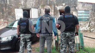 Allanamientos con 12 detenidos en San Javier y Santa Fe, con secuestro de cocaína y marihuana