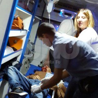 Herido. El 11 de marzo del 2016 Walter Alarcón fue trasladado al hospital Cullen con un disparo en la cabeza.