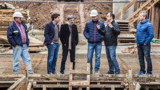 nacion y municipio supervisaron obras hidricas en la zona norte de la ciudad