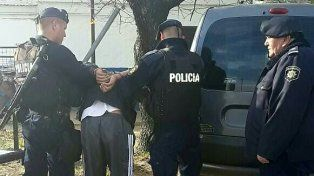 cayo preso un delincuente con pedido de captura por intentar asesinar a una mujer y a un hombre