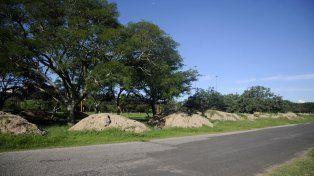 Obras. Desde hace tiempo el municipio realiza tareas de infraestructura en el lugar.