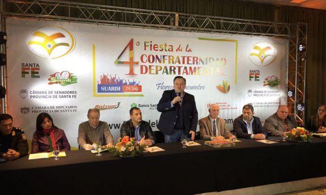 Suardi se prepara para la Fiesta de la Confraternidad Departamental 2017