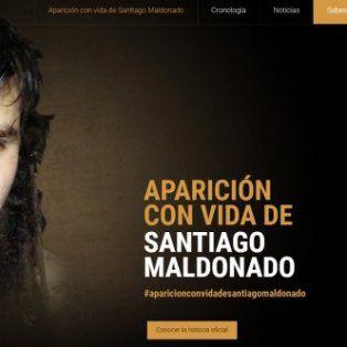 santiago maldonado: su celular se activo en chile