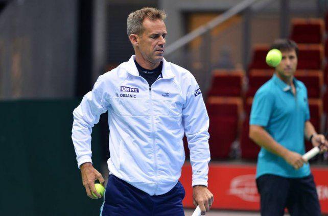 Copa Davis: Orsanic anunciará el equipo que visitará a Kazajistán